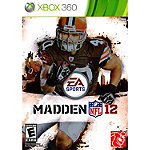 Microsoft Madden NFL 12 for Xbox 360 (Pre-Owned)