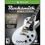 Microsoft Rocksmith 2014 Remaster for Xbox One