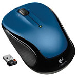 Logitech Blue Wireless Mouse M325 29.99