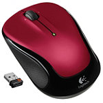 Logitech Red Wireless Mouse M325 19.95