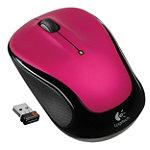 Logitech Pink Wireless Mouse M325