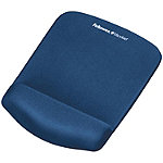 Fellowes Blue Mouse Pad with Wrist Rest