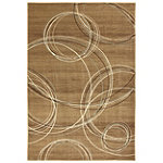 Mohawk Madison Collection Spiral Stratum Dark Beige 5'x8' Rug 89.95