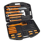 Mr. Bar-B-Q 18-Piece Stainless Steel Barbeque Tool Set 14.99