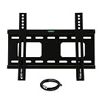 MegaMounts Fixed Wall Mount with HDMI Cable for Most 23'-37' TVs