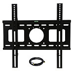 MegaMounts Fixed Wall Mount with HDMI Cable for Most 32'-50' TVs