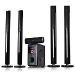 beFree Sound 5.1-Channel Surround Sound Bluetooth Speaker System