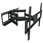 MegaMounts Full-Motion Double Articulating Wall Mount for Most 32'-70' TVs