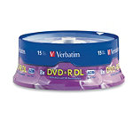 Verbatim DVD+R Double Layer 15-Pack Spindle 29.95