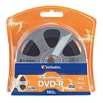 Verbatim DigitalMovie™ DVD-R 10-Pack No price available.