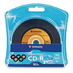 Verbatim Digital Vinyl CD-R 10-Pack 6.95
