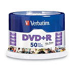 Verbatim DVD+R 50-Pack Spindle 9.95