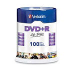 Verbatim DVD+R 100-Pack Spindle 19.95
