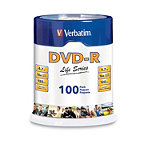 Verbatim DVD-R 100-Pack Spindle 19.95