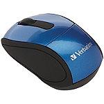 Verbatim Blue Wireless Mini Travel Mouse