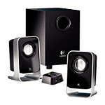Logitech 2.1 Stereo Multimedia Speaker System with Subwoofer 29.99