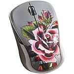 Verbatim Rose Wireless Multi-Trac Blue LED Mouse