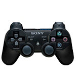 Sony PlayStation®3 Black DUALSHOCK Wireless Controller