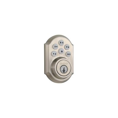 Kwikset Satin Nickel Traditional Deadbolt
