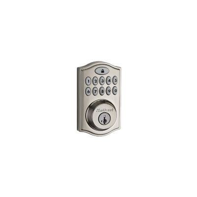 Kwikset Satin Nickel Z-Wave Deadbolt