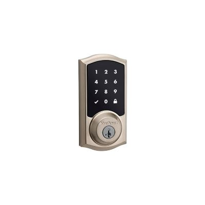 Kwikset Satin Nickel Touchscreen Electronic Deadbolt