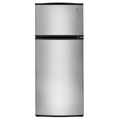 Amana 17.6 Stainless Steel Top-Freezer Refrigerator