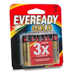 Eveready® Gold® AA Alkaline Battery 8-Pack 7.99