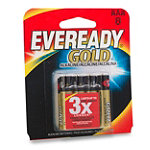 Eveready® Gold® AAA Alkaline Battery 8-Pack 7.99