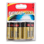 Eveready® Gold® C Alkaline Battery 4-Pack 4.99