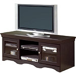 TechCraft 60' Avalon Series Wide Credenza for Flat-Panel TVs and DLP TVs 279.95