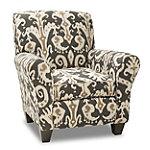 Corinthian Cane Accent Chair