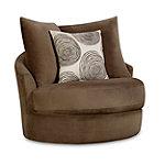 Corinthian Collier Swivel Chair