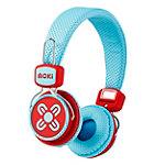 Moki Kid Safe Blue/Red Volume Limited Headphones