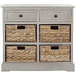 Safavieh Vintage Grey Herman Storage Cabinet