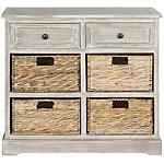 Safavieh White Herman Storage Cabinet