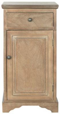 Safavieh Washed Natural Pine Jett Cabinet