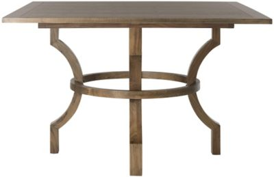 Safavieh Oak Finish Ludlow Square Dining Table