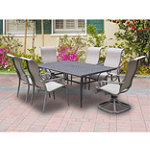 Patio Logic Amherst 7-Piece Sling Patio Set