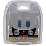 Acoustic Research Performance Series Couplers (Converts Male RCA Plug to Female RCA Jack) 2.95
