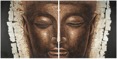 Safavieh Buddha Painting Set of 2
