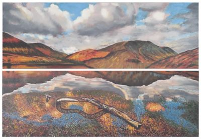 Safavieh Painted Desert Diptych Wall Art