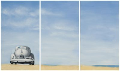 Safavieh Dune Buggy Triptych Wall Art