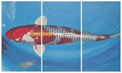 Safavieh Go Fish Triptych Wall Art