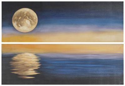Safavieh Moonscape Diptych Wall Art