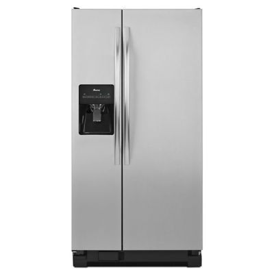 Amana 22 Cu. Ft. Stainless Steel Side-by-Side Refrigerator