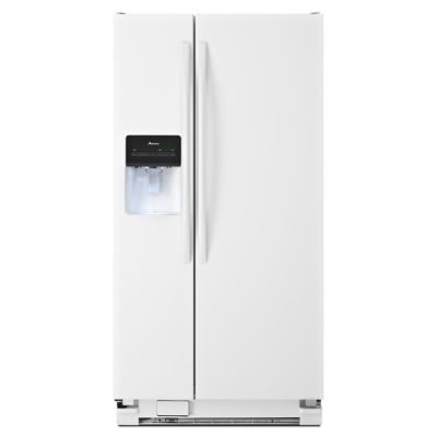 Amana 22 Cu. Ft. Side-by-Side Refrigerator
