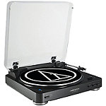 Audio Technica Black Fully Automatic Wireless Belt-Drive Stereo Turntable