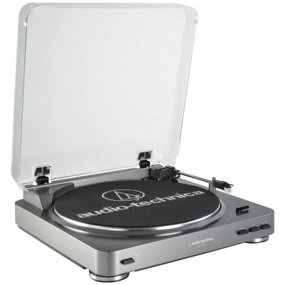 Audio Technica Fully Automatic Belt-Driven USB Turntable