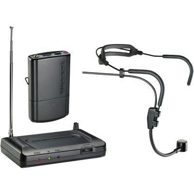 Audio Technica 169.505MHz Headworn VHF Wireless Microphone System
