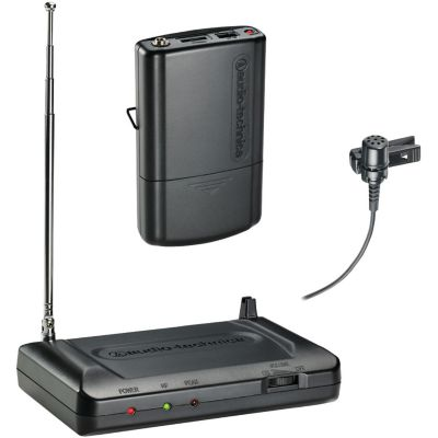 Audio Technica 170.245MHz Lavalier VHF Wireless Microphone System
